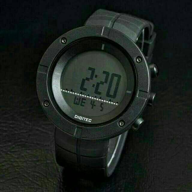 Jam Tangan Pria Merk Digitec Type : 3040 Baterai