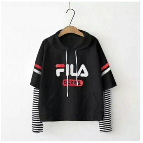 Fila Dickies White / Sweater Wanita / Sweater Fila