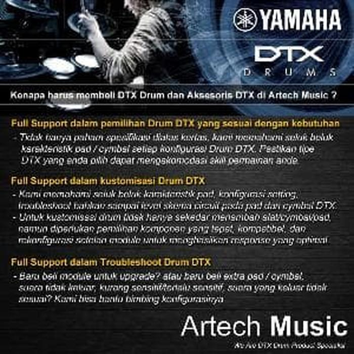 Yamaha DTX XP-70 + Tom Holder- E-Drum TCS Pad Single Zone 7 I Promo
