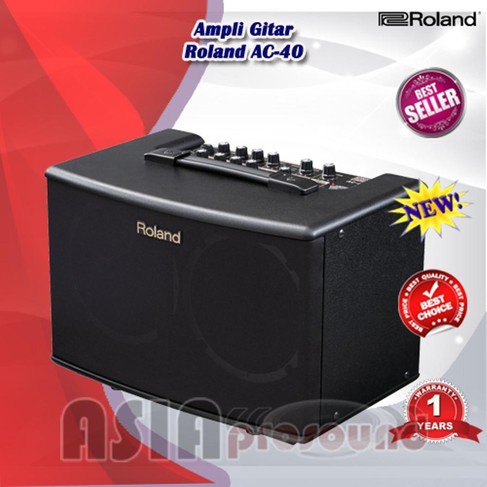 Ampli Gitar Akustik Roland AC-40 - Roland AC 40 - Roland AC40 Original