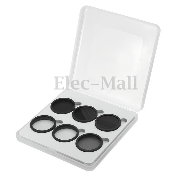 Promo Terbatas!! 6Pcs Nd4+Nd8+Nd16+Mc-Uv+Cpl+Filter Lens Protector Cap - Dji Phantom 4 - ready stoc
