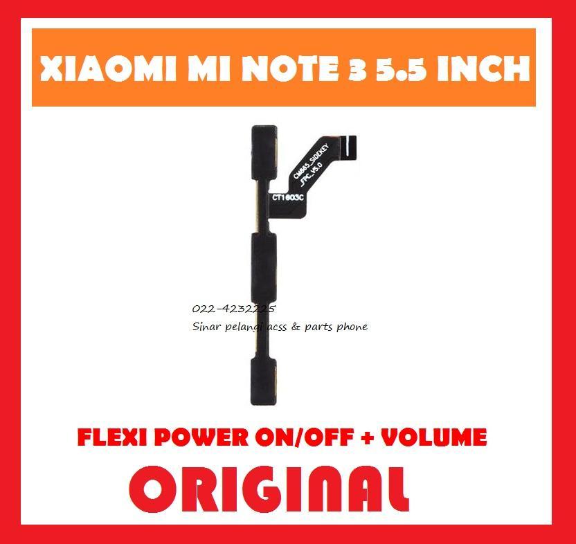 Rp 39.780. XIAOMI MI NOTE 3 5.5 INCH FLEXIBEL FLEXI FLEX FLEXIBLE TOMBOL POWER ...
