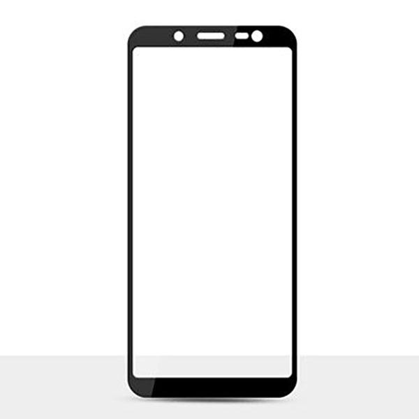 HMC Samsung Galaxy J6 2018 / J600 - 5.6 inch - 2.5D Full Screen Tempered Glass - Lis Hitam