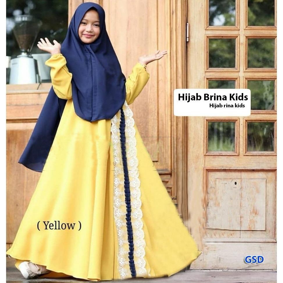 GSD - Baju Anak / Gamis Anak / Baju Muslim Anak / Maxi Anak / Dress