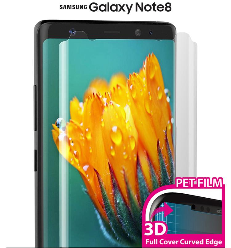 Samsung Note8/3D/S9/S9plus Produk Asli Anti Sidik Jari Anti Kores HD Pelindung Layar