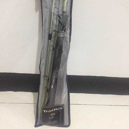 Joran Pancing Kenzi Trastick 564 panjang 165 cm kapasitas 7 sampai 15 Lbs Harga sudah termasuk packing pipa