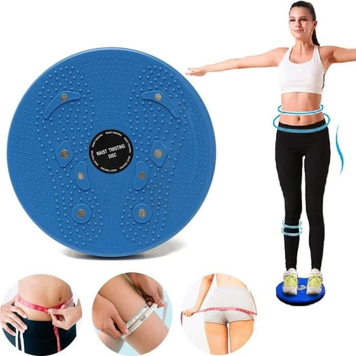 Jogging Magnetic Trimmer Body Plate - Alat Olahraga Pengecil Pinggang dan Perut