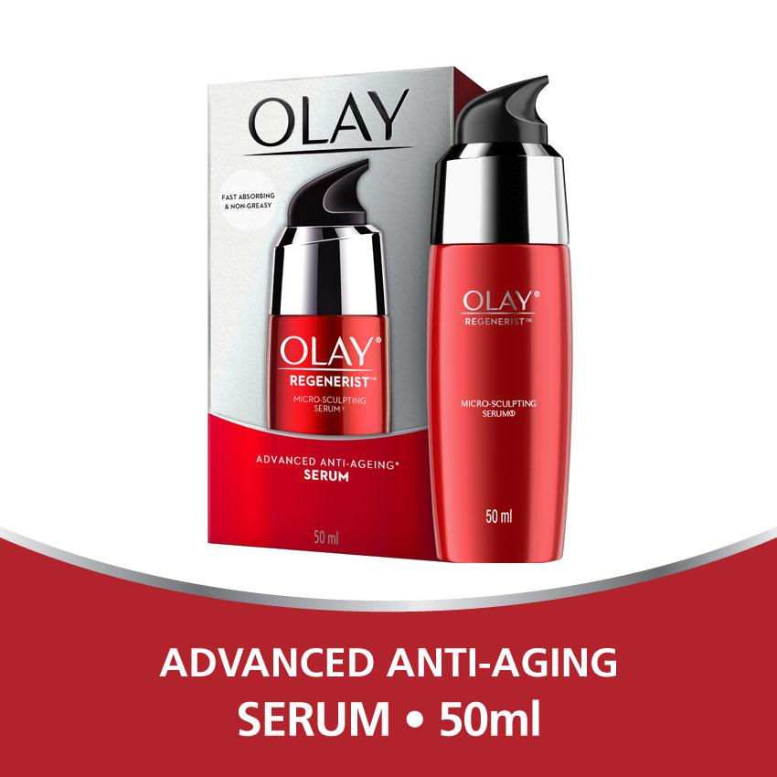 Olay Advanced Anti Aging – Pelembab Regenerist Micro-sculpting Serum – 50ML
