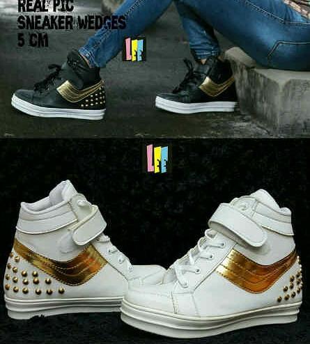 Dompet Kartu sandal sepatu boots sneakers wanita bhestcollection Diskon