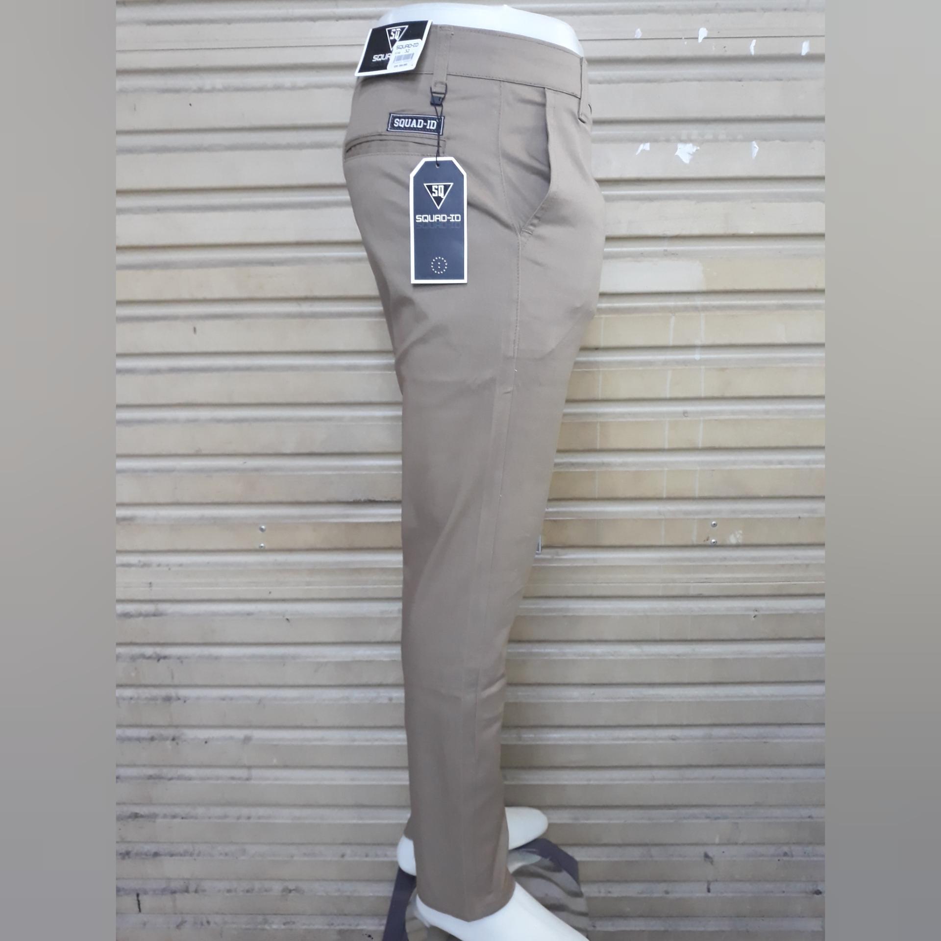 Celana panjang cino pria bahan cotton mona strecth/melar slim fit bagus murah