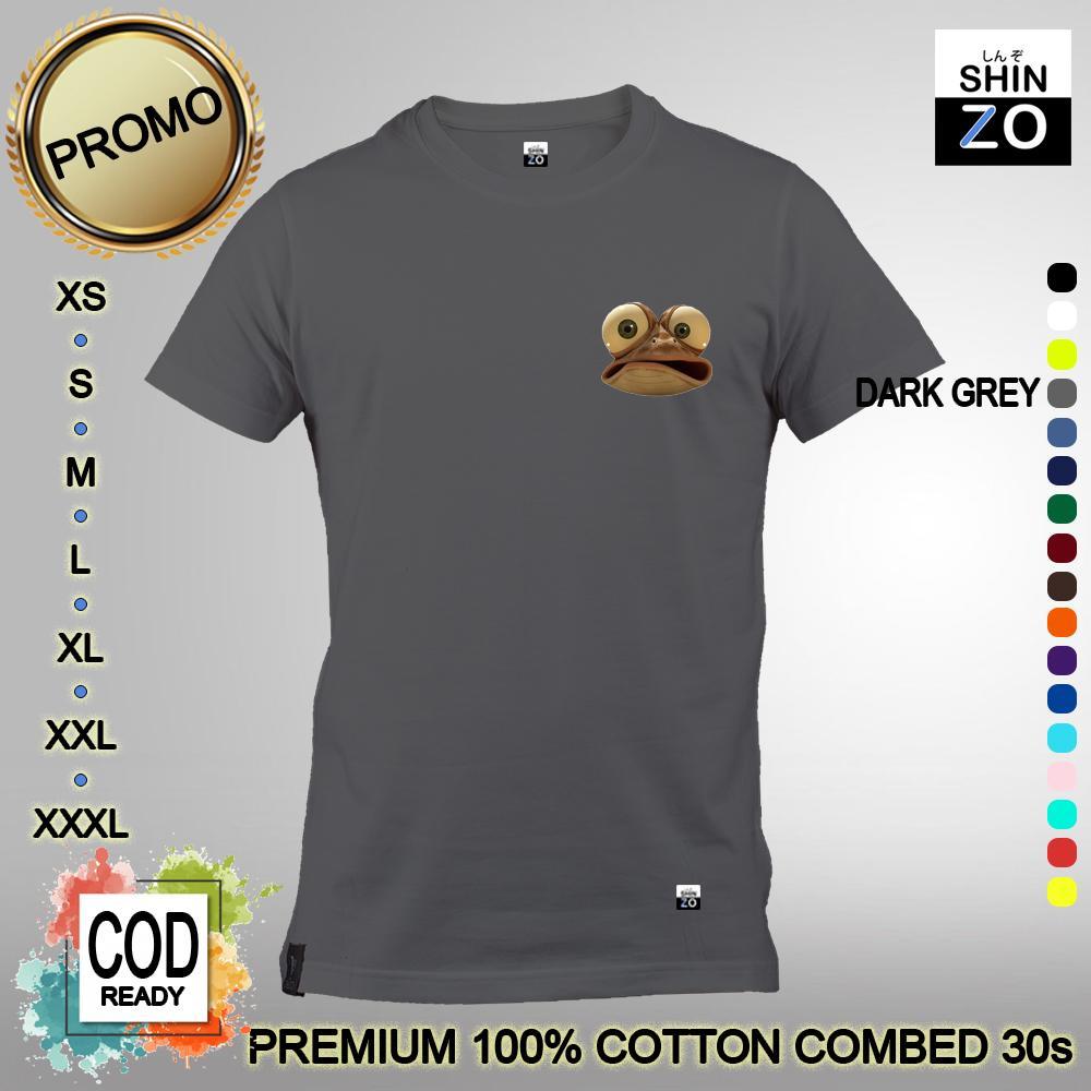 Shinzo Design - Kaos Unisex 17 Warna - T Shirt Oscar Mini - Kaos Kartun Lucu
