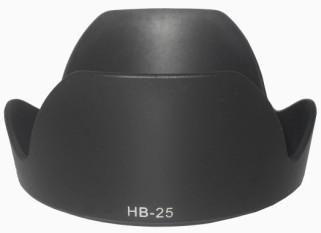Nikon Tudung Lensa HB-25 Tudung Lensa D40/D40X/D60/24-120 Mm Sambungan