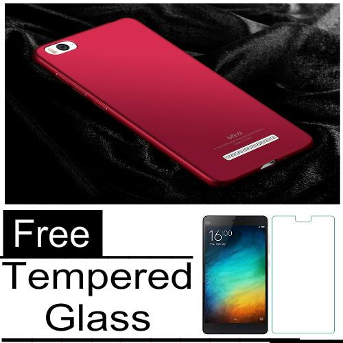 Hard Case for Xiaomi Redmi MI 4I / Mi 4C Baby Skin Slim + Tempered Glass Protecktor_BENING_AKIO_SHOP