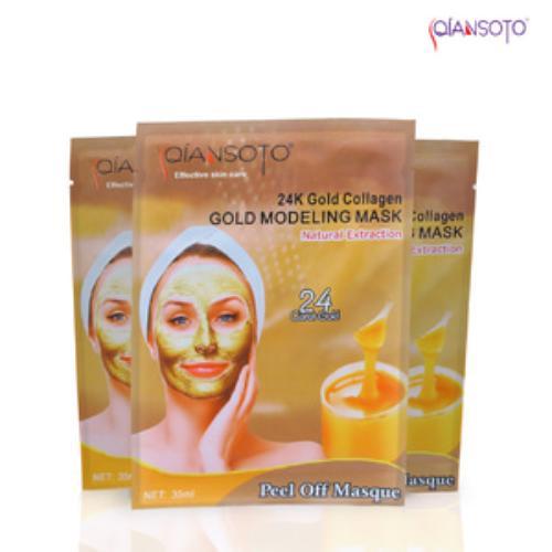78Bintang Qiansoto Masker Wajah Resmi BPOM - Gold - 1 Sachet