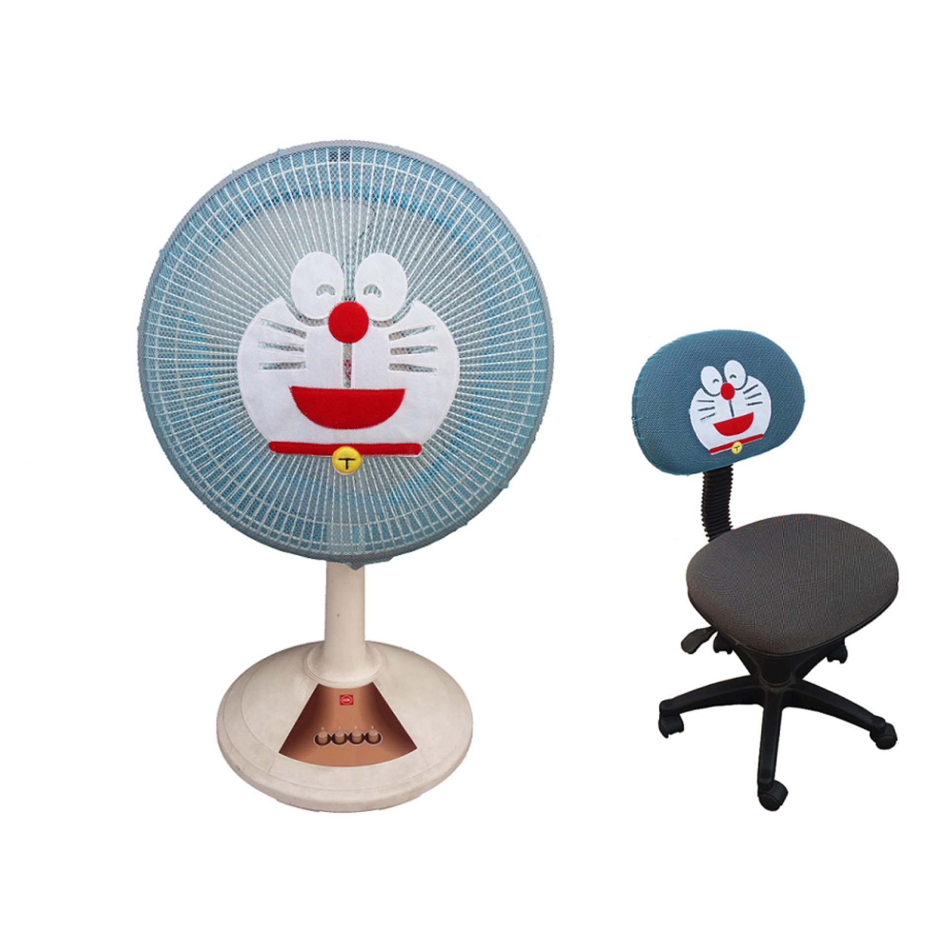 Merchandise Doraemon Terlengkap Rkb Tegal Sarung Bantal Flanel Karakter Kipas Angin Bordir