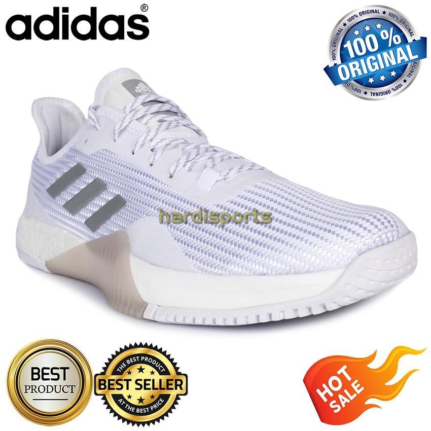 Sepatu Pria Original Running Adidas Crazy Train Elite M Boost BA8003 - White