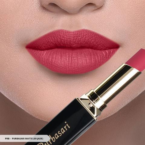 Purbasari Lipstick Matte - 89 JADE