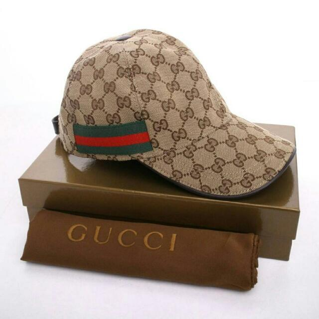 Topi Gucci Baseball Cap Authentic / Unisex / Original / Best Quality / Limited Edition