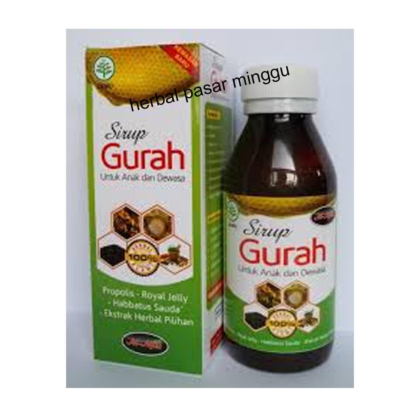 Sirup Madu Gurah untuk Anak dan Dewasa Al-Afiat (125 ml)