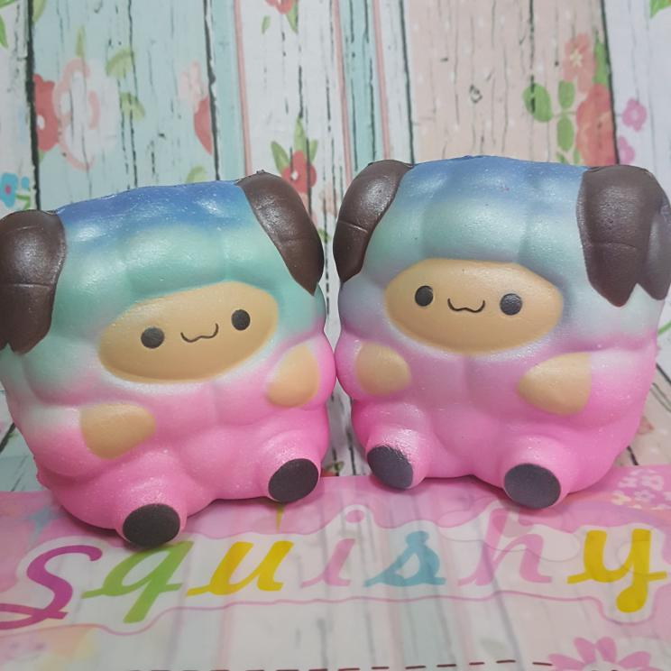 Squishy Murah Replika Pink Sheep Pat pat Zoo
