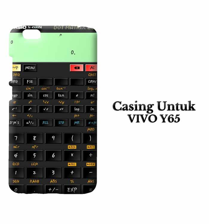 Casing Vivo Y65 kalkulator fix Custom Hard Case Cover