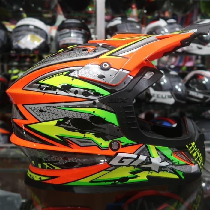 Helm Cross GIX Arrow Head Yellow Fluo