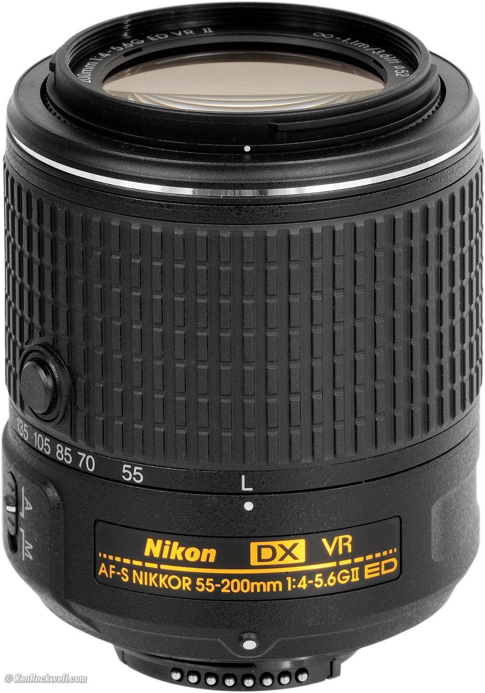 LENSA NIKON DX VR ZOOM AF-S 55-200mm F4.0-5.6 G ED / LENSA NIKON