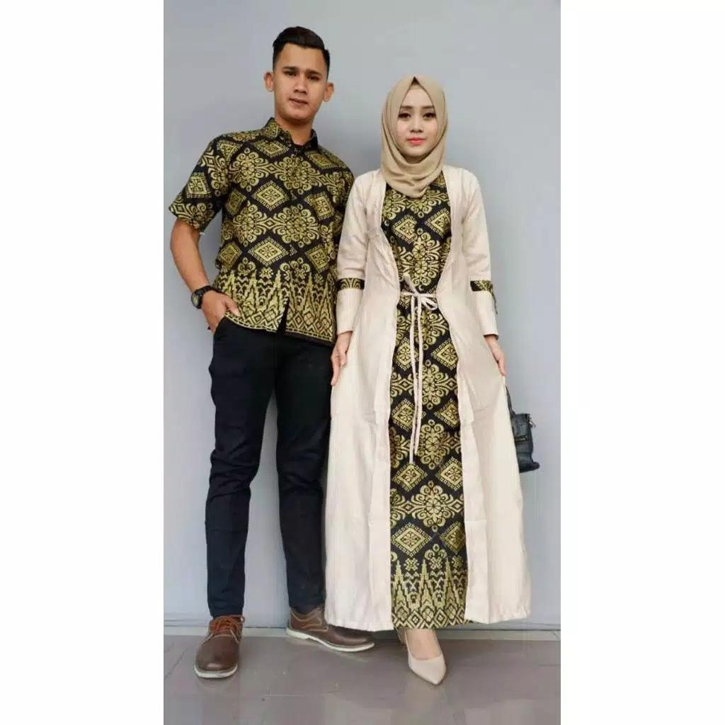 TERMURAH - Baju Batik – Batik Sarimbit - Baju Muslim Wanita Terbaru 2018 - Batik  Couple 177d7a4eb9
