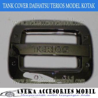 Price Checker Garnish Tutup Bensin/Tank Cover Garnish Daihatsu Terios Model pencari harga - Hanya
