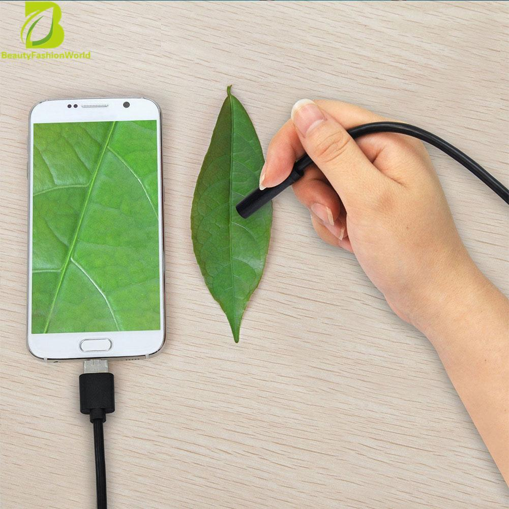 5 M 7mm Android Endoskopi Borescope Inspeksi Usb Lampu Led Video Kamera Scope-Intl By Beautyfashionworld.