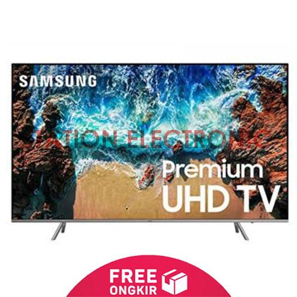 SAMSUNG Flat Premium UHD 4K Smart Digital LED TV 82- 82NU8000 - Khusus JABODETABEK