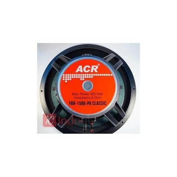 Promo New SPEAKER 15 INCH ACR CLASSIC FAR 1580 PA CLASSIC 500 WATT ORIGINAL ASLI Speaker Aktif / Speaker Super Bass