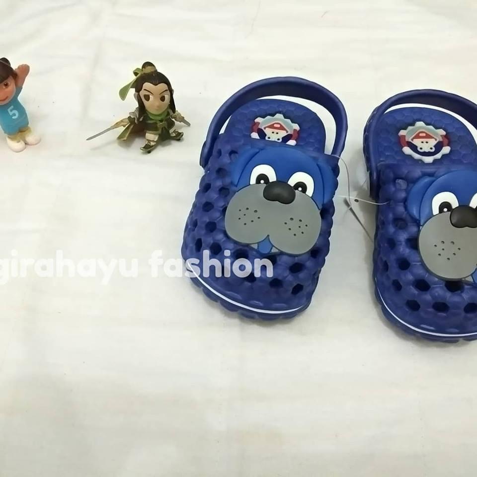 Sandal Slop Anak Cewek Karakter Lucu Size 18-23