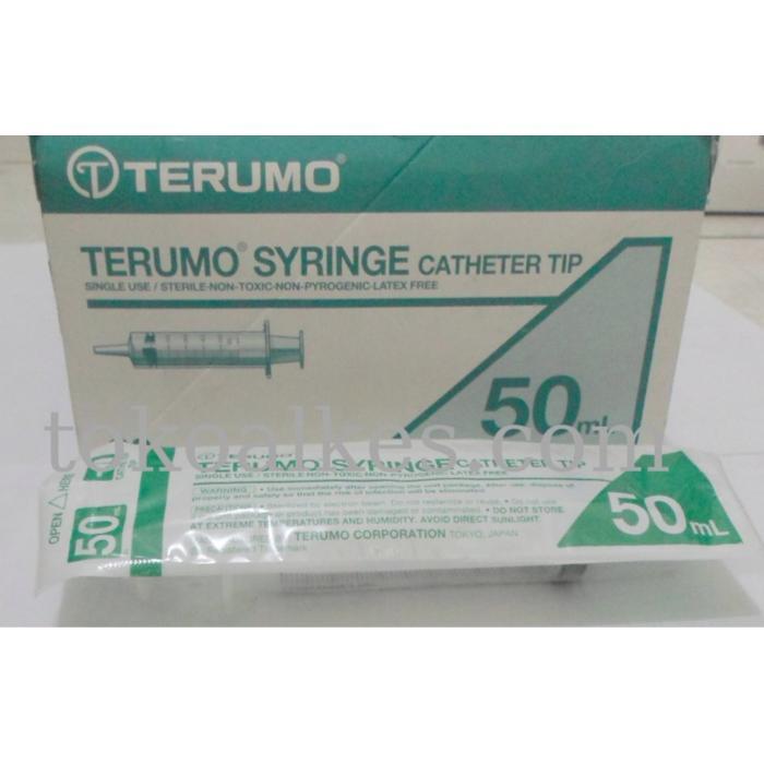 Feeding Syringe / Alat Suntik Untuk Memberi Makan Pasien Terumo 50 Cc