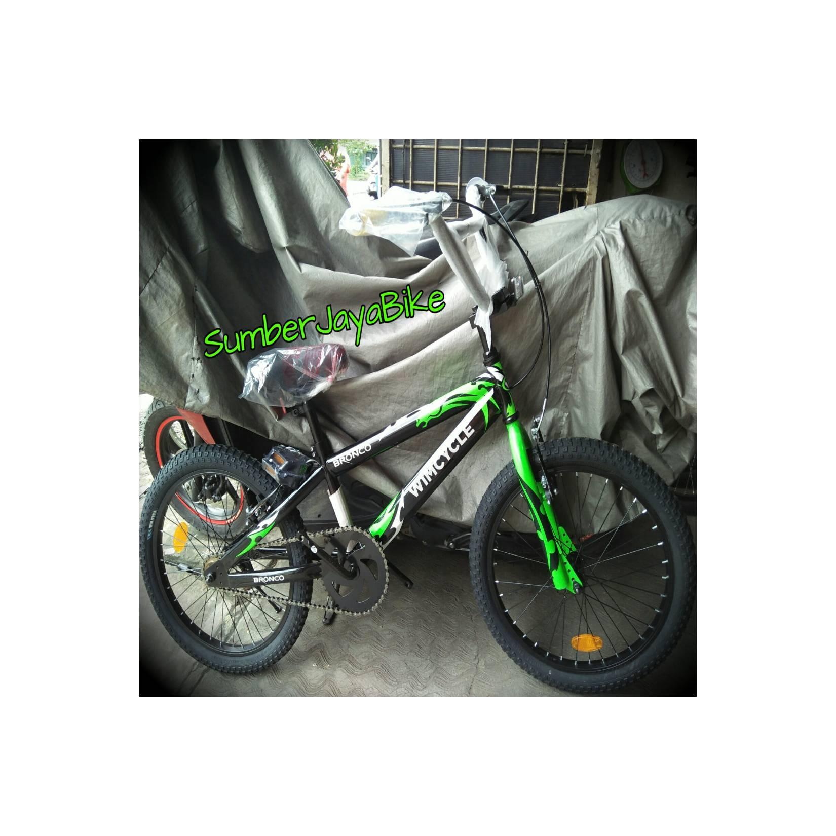 sepeda anak bmx 20 wimcycle