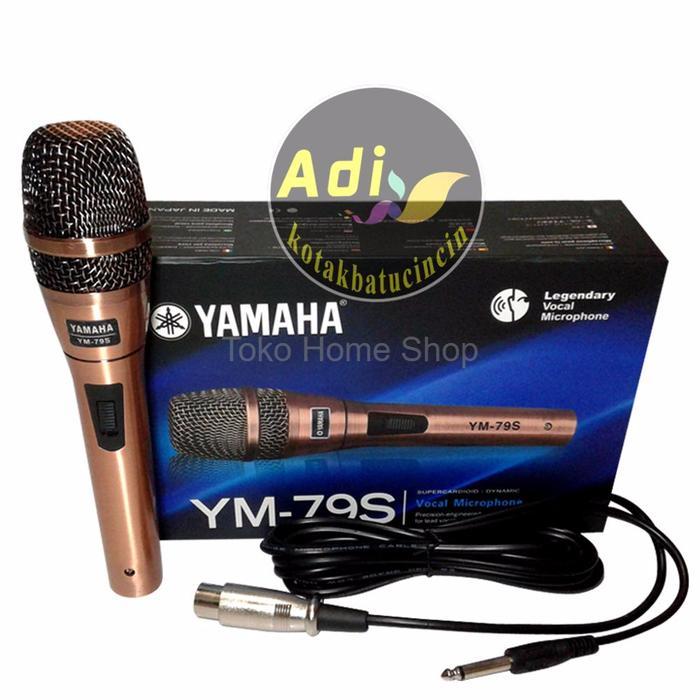 Yamaha Microphone Kabel YM 79 S Super Body Besi - GOLD