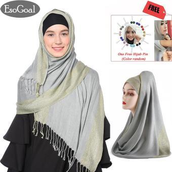 Harga Termurah EsoGoal Cotton Bee Pashmina Instan Sabrina - Jilbab Instan Kerudung Berkualitas sale - Hanya Rp67.482