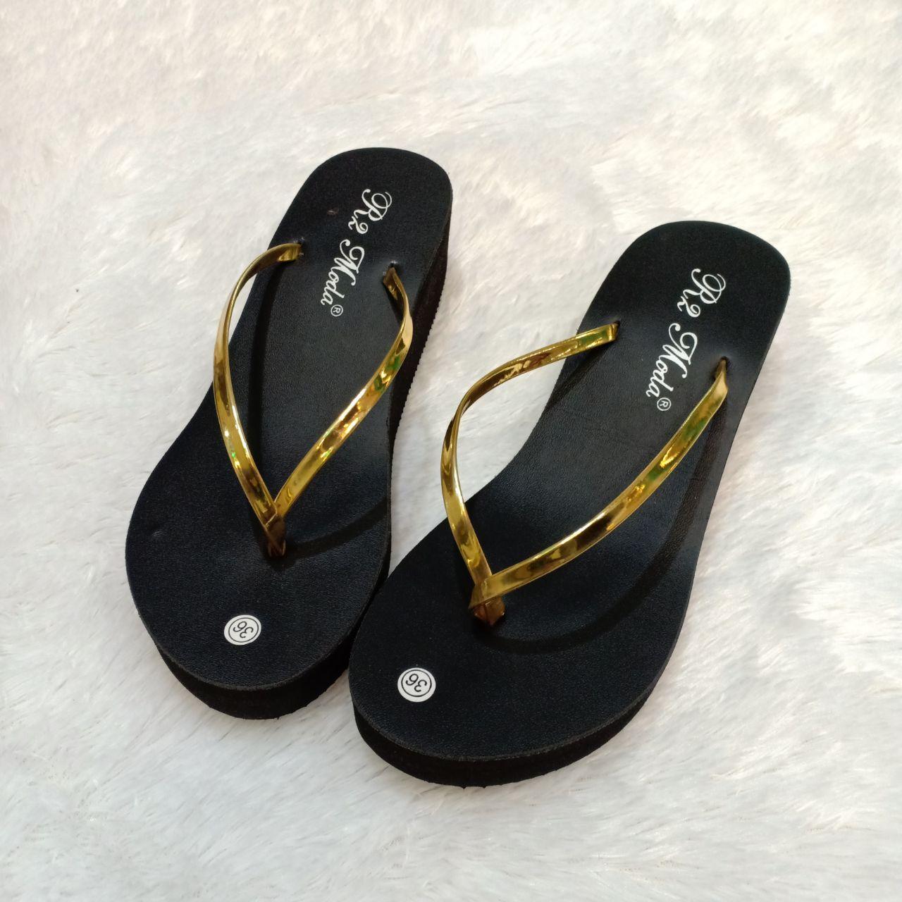 Shoes Wedges Sepatu Wanita Moca Tali