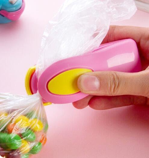 handy mini sealer perekat plastik elektrik dengan batrai / perekat plastik / perekat plastik elektrik /