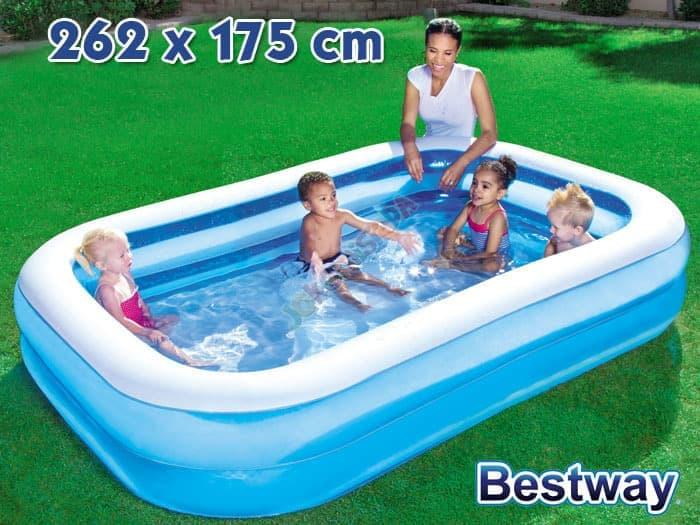 Rp 581.000. Best Seller!! Kolam Renang Bestway 54006|Inflatable Swimming Pool|Kolam Renang Anak ...