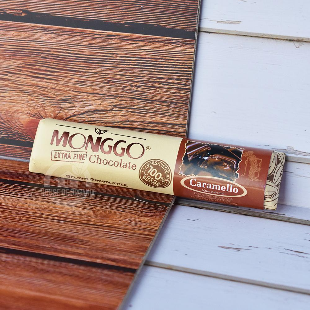 Monggo Dark Chocolate 58 % Caramello 40 Gr