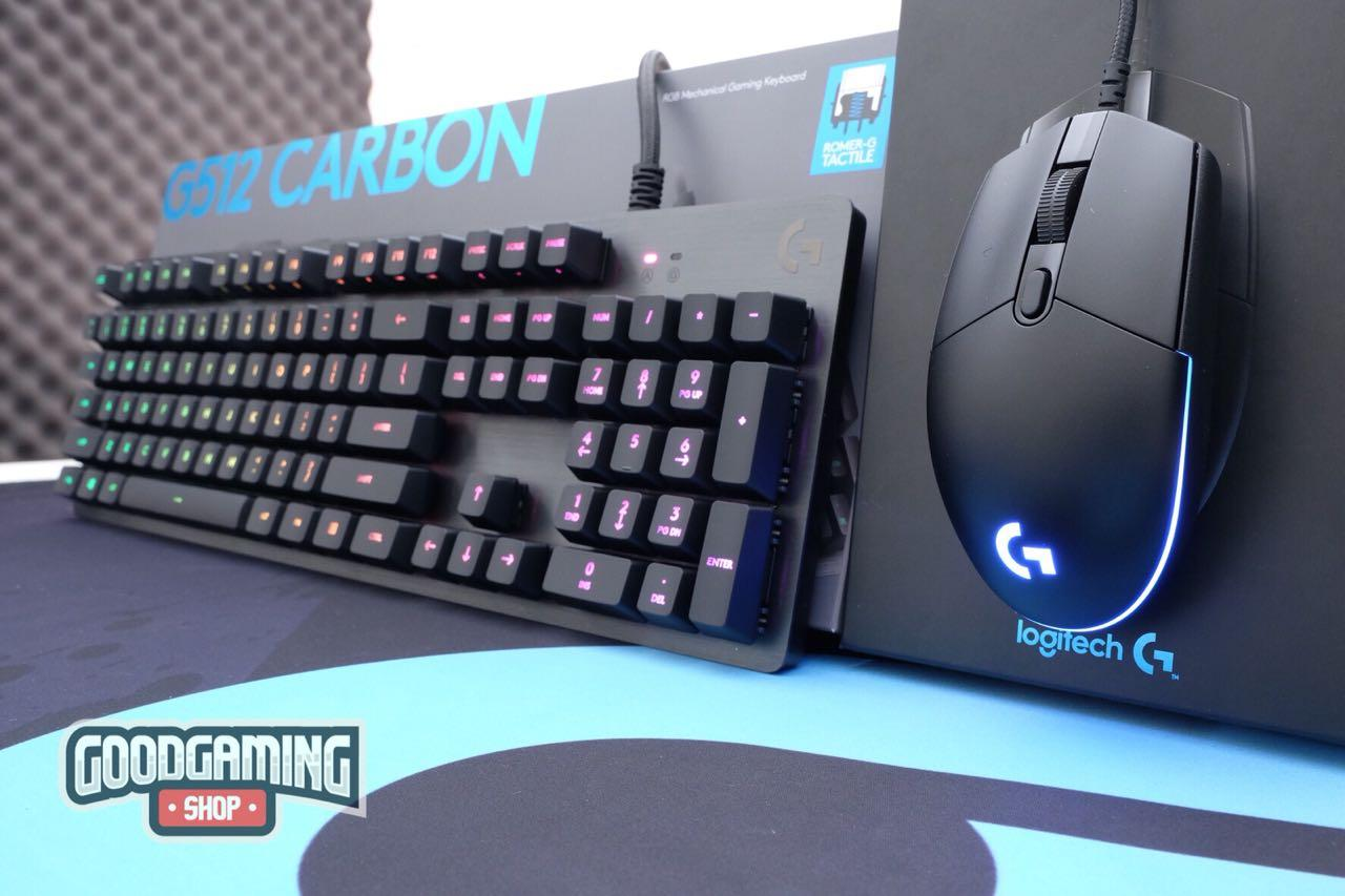 Buy Sell Cheapest Terlaris Logitech G512 Best Quality Product Rgb Mechanical Gaming Keyboard Gx Blue G Pro Mouse Good Game Gigantus Cloud 9