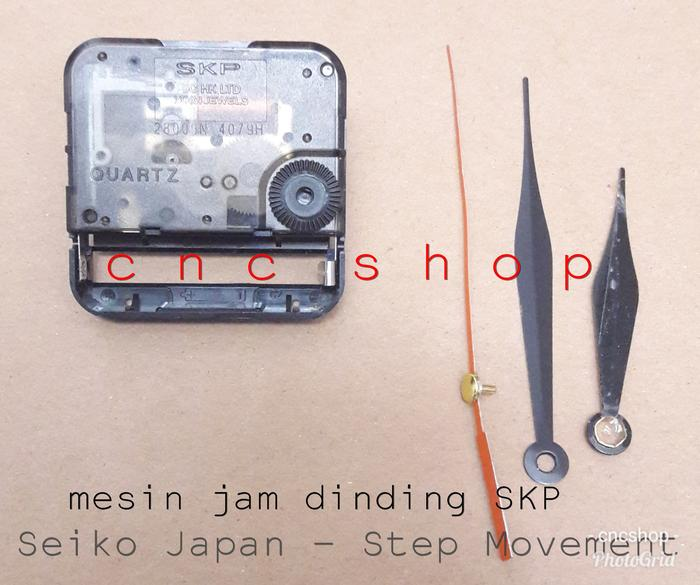 Rp 97.500. PROMO - Mesin Jam Dinding SKP Seiko Japan High Quality Step  Movement    Jam Dinding Unik   Digital   Unik Murah   Digital LED   Besar  ... a280d03cb9