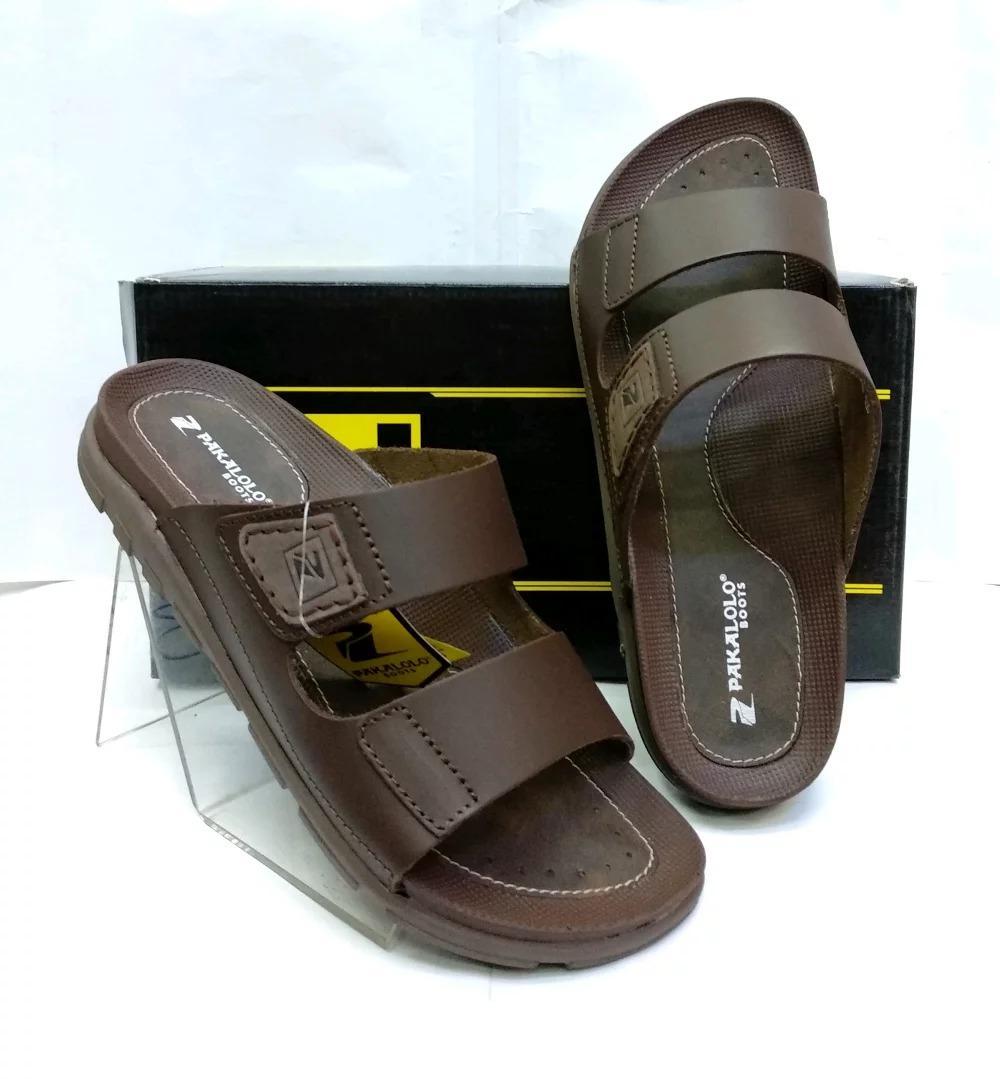 Sandal Kulit Pakalolo N0195 - Brown