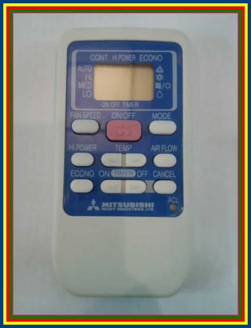 Remot Remote AC Mitsubishi Rks502A503D Ori Original Asli