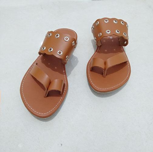Therwan Sandal Flat Wanita Model Baru