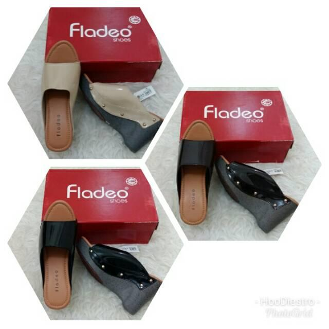 Fladeo - Sandal Branded Murah Variasi Coffee sz 38