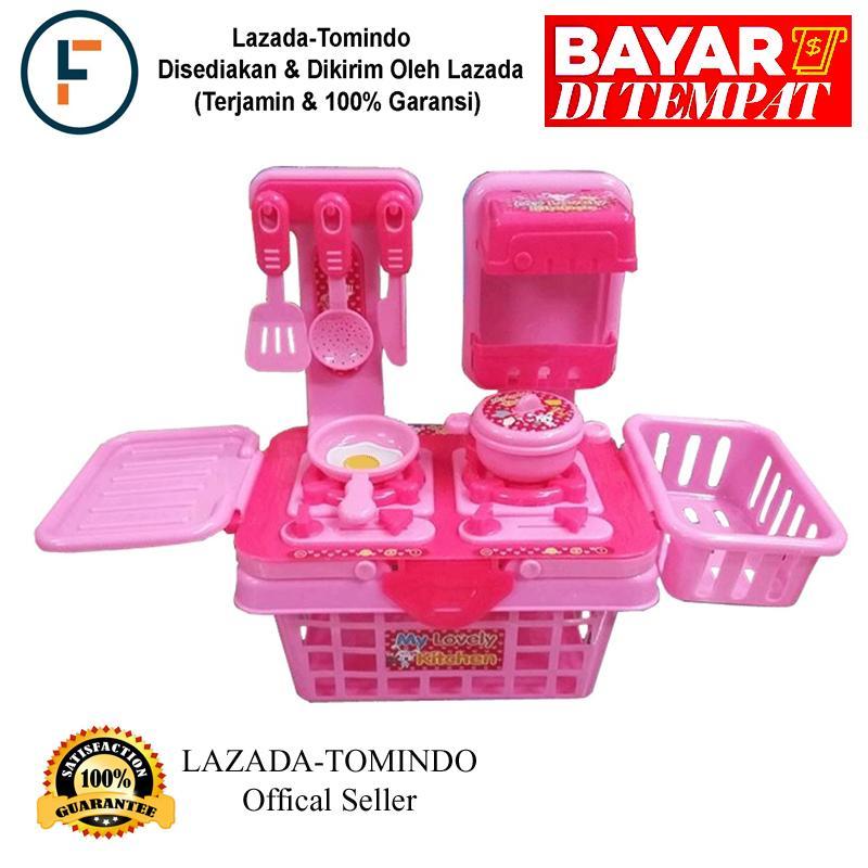 GRATIS ONGKIR - Tomindo My Lovely Kitchen Set Pink   Mainan Anak   Mainan  Anak Perempuan 3c6549ae88