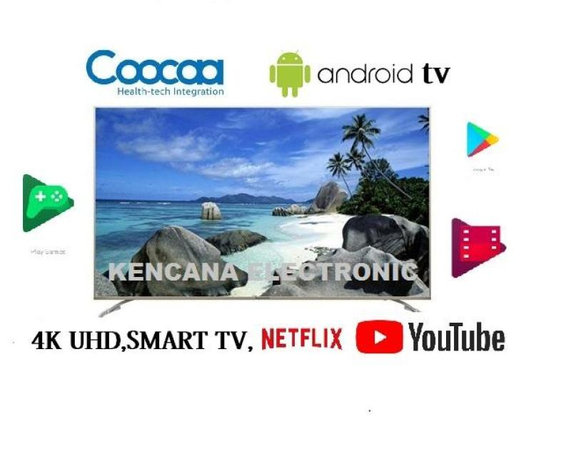 COOCAA MODEL- 50G2 LED TV 4K Android Smart TV 50inch -Wifi -Ultra HD -NETFLIX- FREE ONGKIR Khusus JABODETABEK