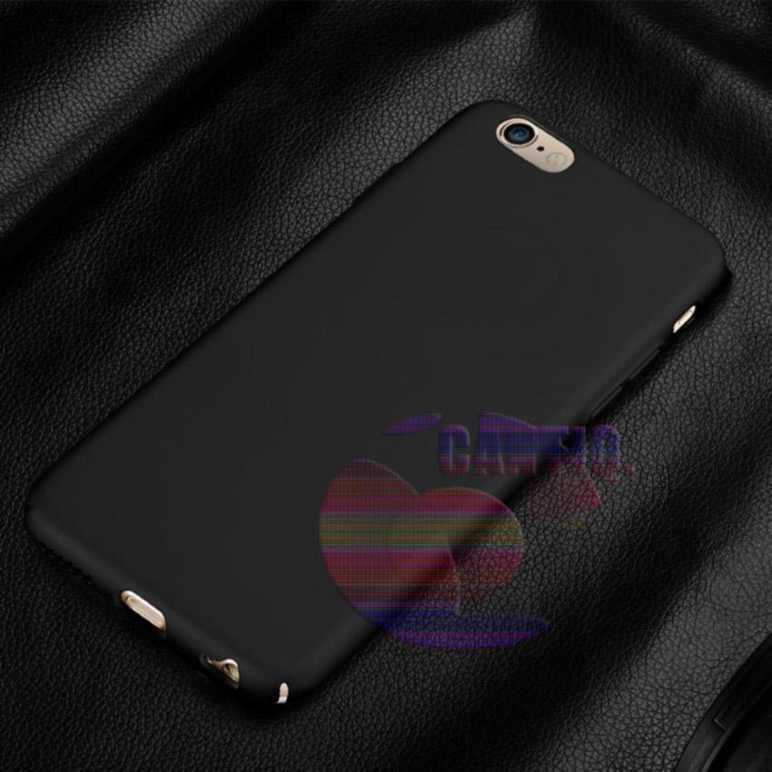 Case Apple Iphone 5G Hard Slim Black Mate Anti Fingerprint Hybrid Case Baby Skin Iphone 5S Baby Soft Iphone 5SE Hardcase iphone 5 Plastic Back Cover / Casing iphone 5  - Hitam / Black